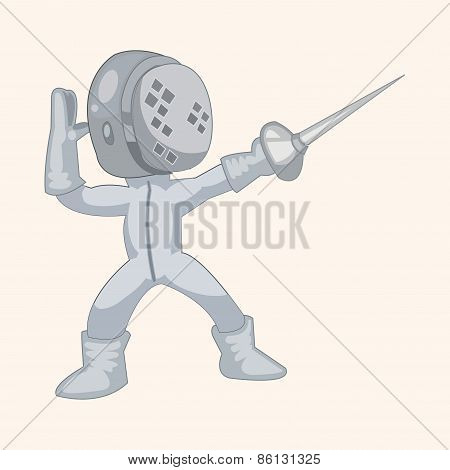 Fencing Theme Elements