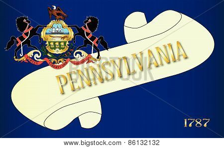 Pennsylvania Scroll