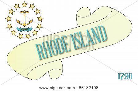 Rhode Island Scroll