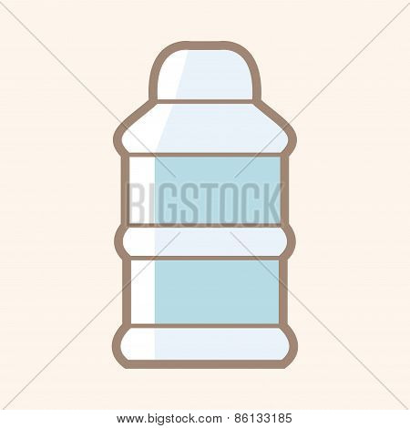 Feeding Bottle Theme Elements