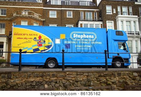 Home Removals Vehicle