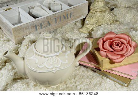 Teapot And Tea Time