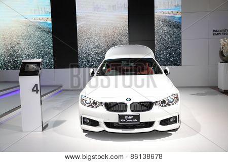 Bangkok - March 24: Bmw 420I Convertible Car On Display At The 36 Th Bangkok International Motor Sho
