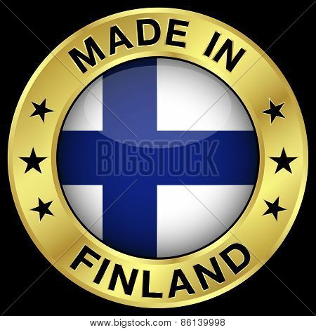 Finland Made In Badge