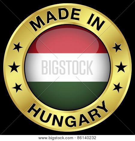 Hungary Made In Badge