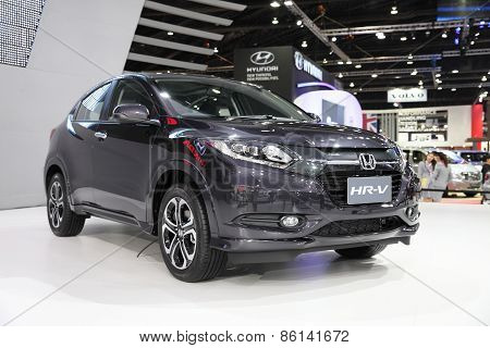 BANGKOK - MARCH 25: Honda HR-V car on display at The 36 th Bangkok International Motor Show on March