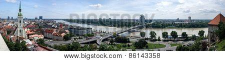Bratislava - A City On The Danube.