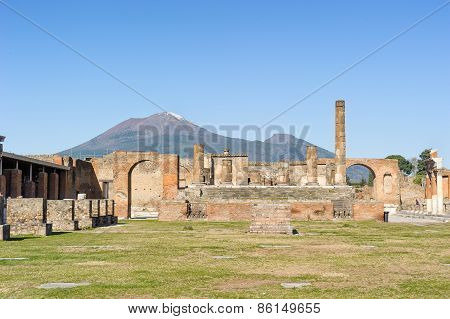 Temple Of Jupiter In Pompeii