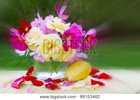 Floral Arrangement Birthday Card