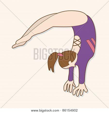 Gymnastics Theme Elements