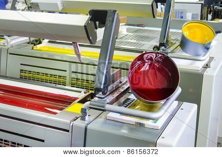 printing machine cylinders