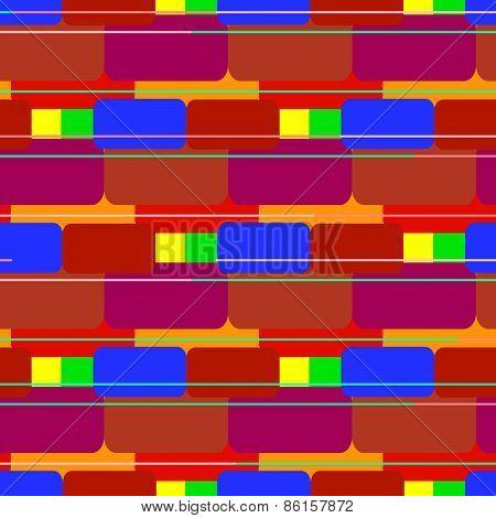 Colored brick