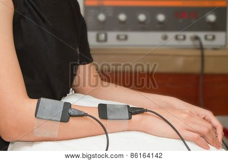 Electrical Stimulation Forearm ,eletrical Stimulator For Increase Muscle Strenght And Release Pain