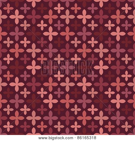 Fashion marsala vector seamless pattern. Endless texture