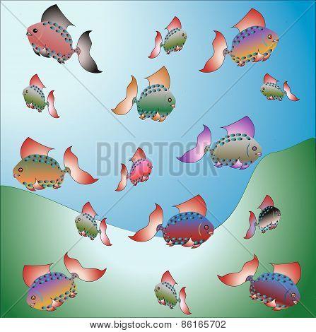 Deep see fish