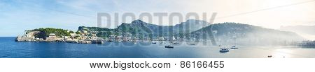 Port De Sóller Panorama