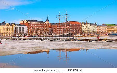 Helsinki. Finland. Halkolaituri