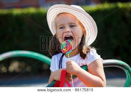 Child With Lollipop