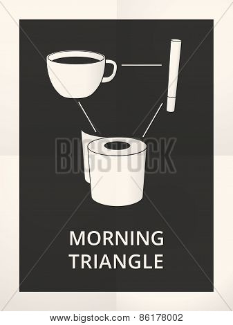 Morning Fit Triangle Illustration