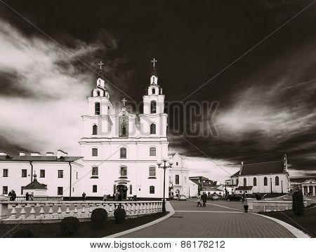 Cathedral of Holy Spirit in Minsk, Belarus