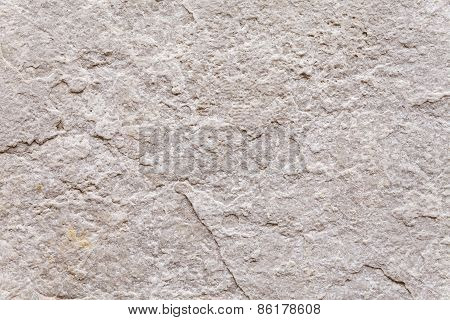 Texture Of Ancient Stone Block Of Exterior Wall .