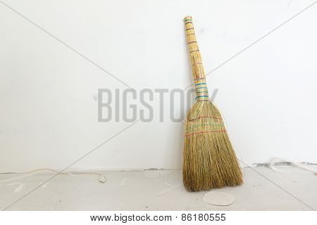 The Broom Is Necessary For Cleaning