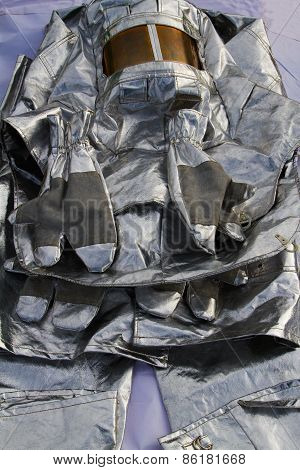 Protective Clothes Of A Firefighter