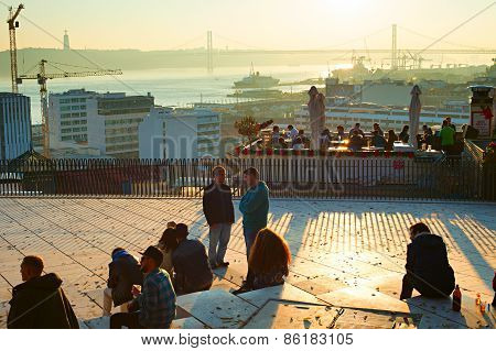 Lisbon Viewpoint, Portugal
