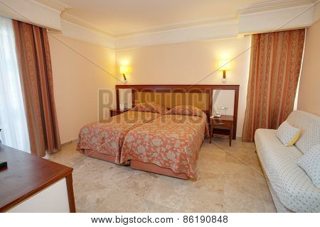 Luxuty room interior