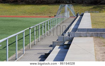 The Fence Of A Football Field