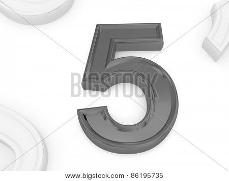 five. 3d