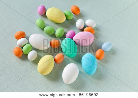 Colorful Sugar Eggs