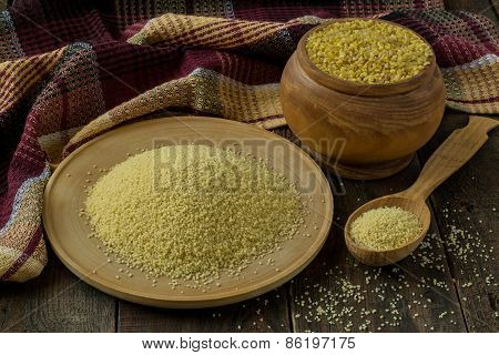 Bulgur And Couscous