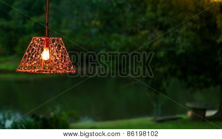 Isolated lamp