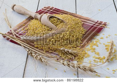 Bulgur And Wheat Ears
