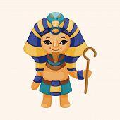 picture of pharaoh  - Pharaoh Theme Elements - JPG