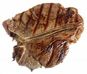 picture of porterhouse steak  - A grilled T - JPG