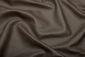 image of blown-up  - blown leather background texture - JPG