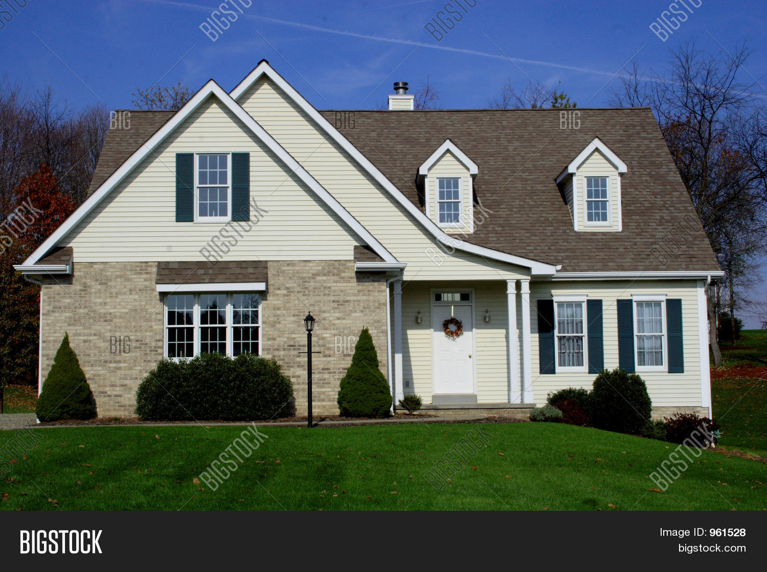 New home cape cod stock photo stock images bigstock for New homes cape cod