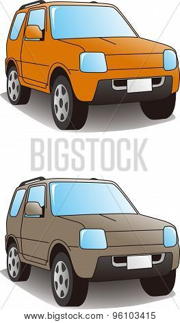 Sport Utility Vehicle Illustration