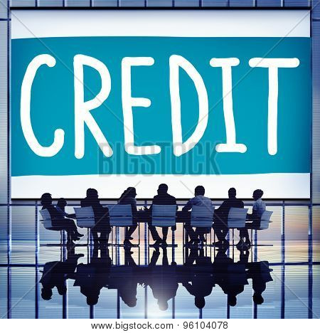 Credit Accounting Banking Financial Business Concept