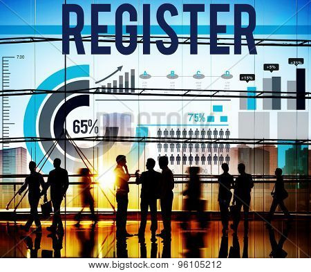 Register Application Subscribe Join Apply Concept