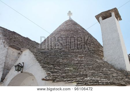 Pointed Stone Roof