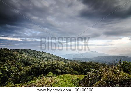 View of Inthanon Mountain, Chiang Mai, Thailand