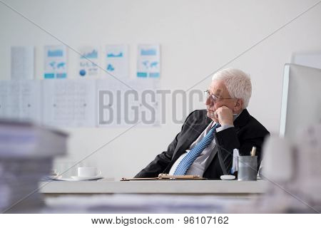 Contemplating senior entrepreneur