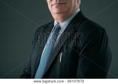 Successful powerful businessman