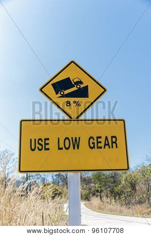 Use Low Gear