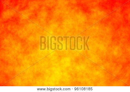 Red And Yellow Fire Background