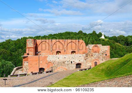 Surviving Buildings Of Upper Vilnius Castle, Vilnius, Lithuania