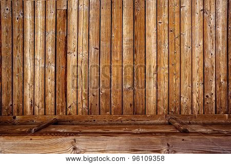 Rustic Wooden 3D Background